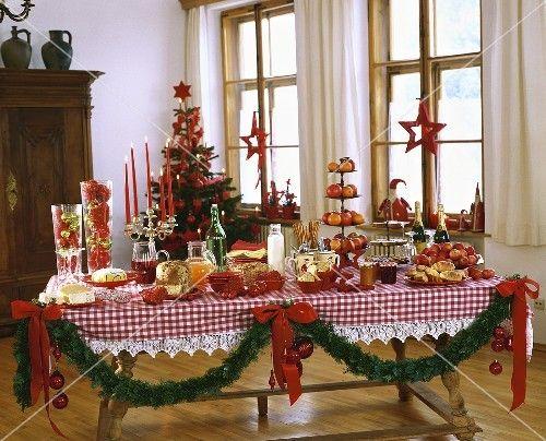 buffet f r den weihnachtsbrunch weihnachten pinterest. Black Bedroom Furniture Sets. Home Design Ideas