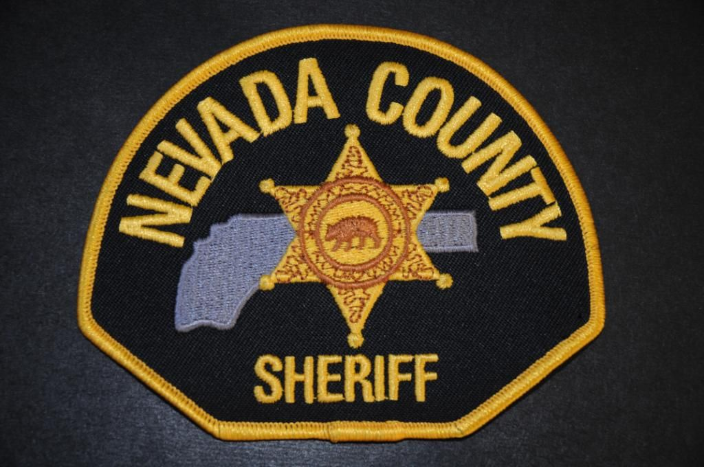 Nevada County Sheriff Patch, California (Current 2007 Issue)