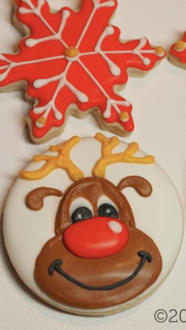 Coolmathgames Com Christmas Ornaments: Rudolph Red Nosed Cookie And Snowflakes