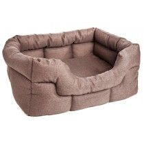 Basket Weave Dog Bed - Rectangular from £70.00 available in different colours.