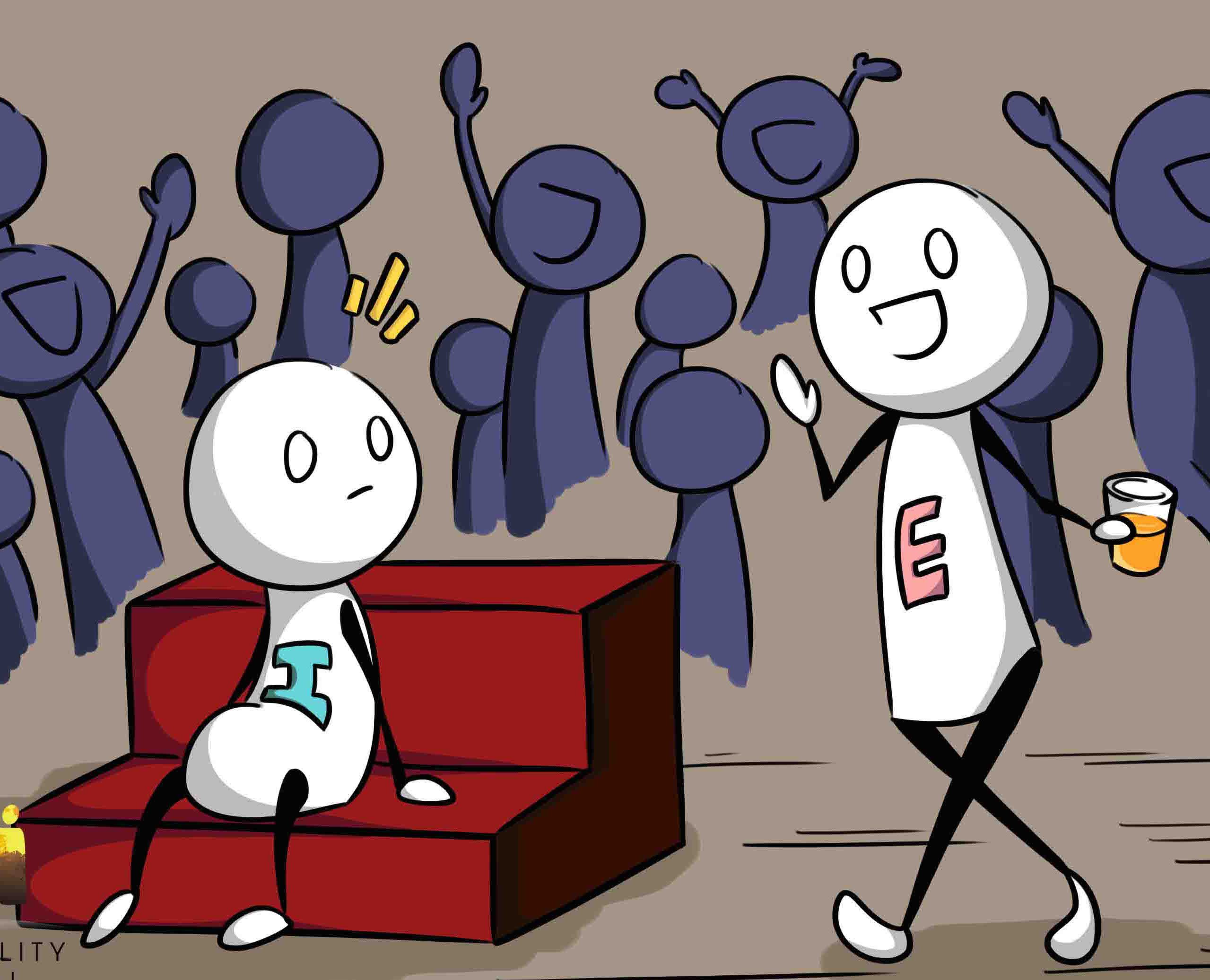 Ekstrovert izlazi s introvertnim buzzfeedom