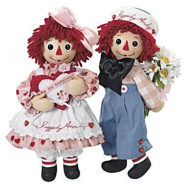 ❤️Raggedy Ann and Andy