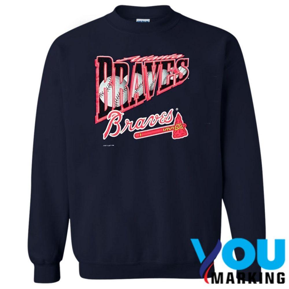 Atlanta Braves Logo 7 Sweatshirt Sweatshirts Atlanta Braves Logo Graphic Tee Shirts
