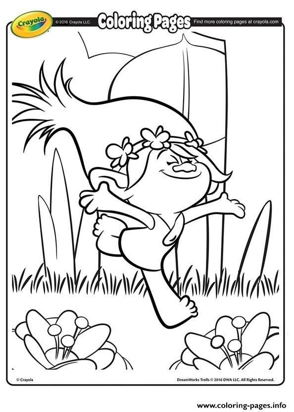 Print Poppy Trolls Coloring Pages Poppy Coloring Page Crayola Coloring Pages Coloring Pages