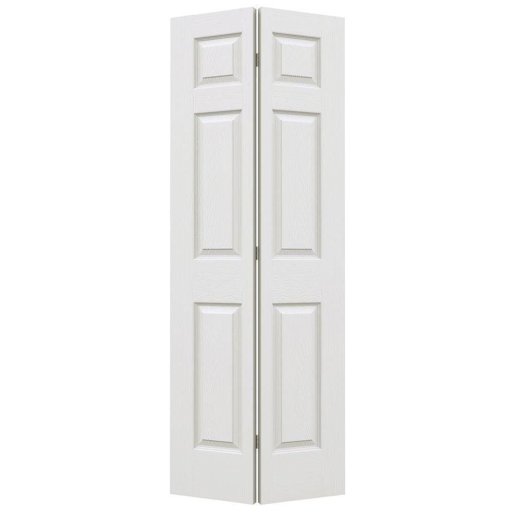 24 in. x 80 in. Colonist Primed Textured Molded Composite