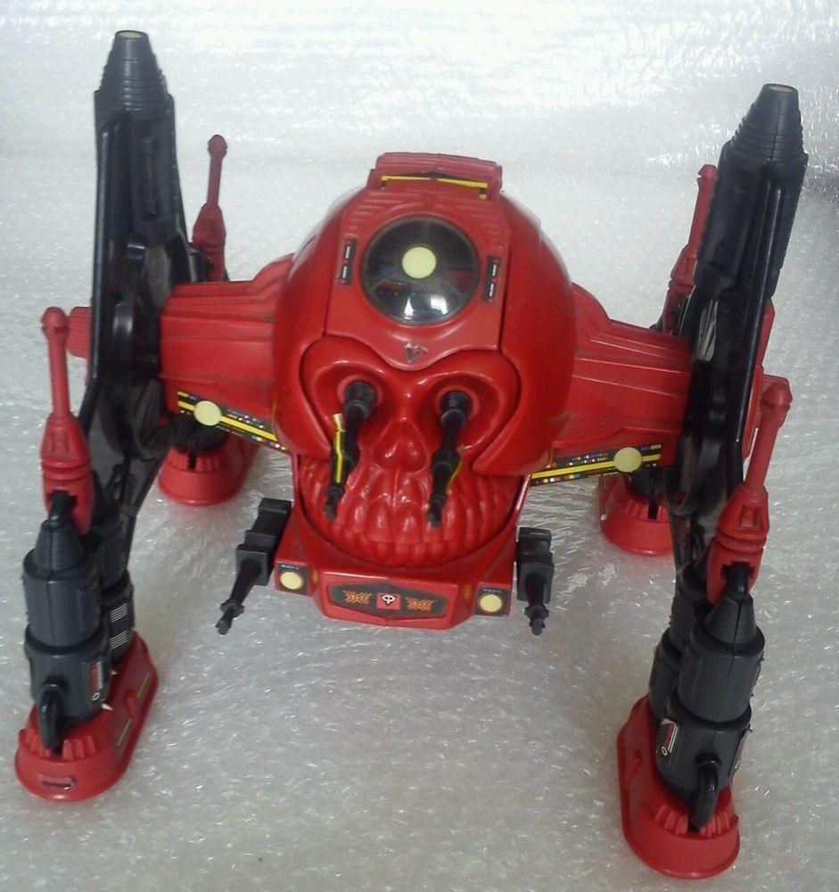 Vintage Action Force G.I.JOE Red Shadows Robo Skull 100