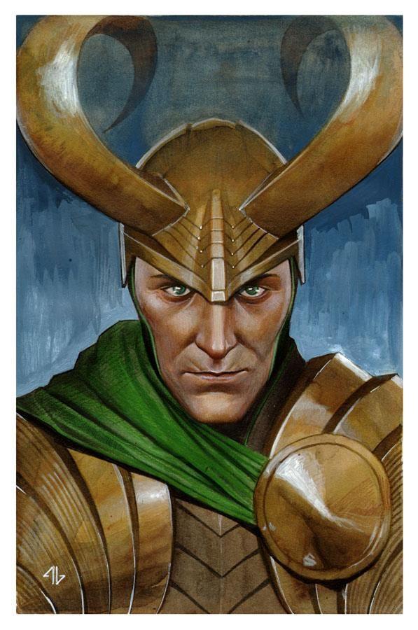 Loki by Adi Granov *