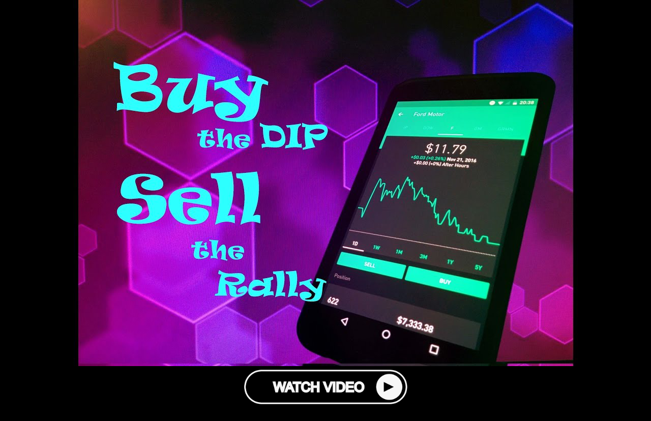 Robinhood App Buy The Dip Sell The Rally Stock Trading