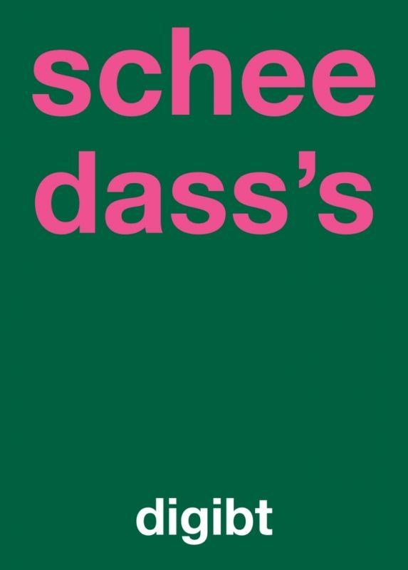 435c249aec95d1 Postkarte: schee dass's digibt | DEUTSCHE SPRUECHE | Schwäbische ...