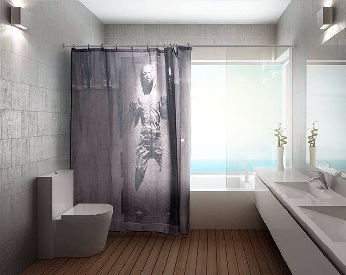 Best Bathroom Ever Star Wars Shower Curtain Cool Shower