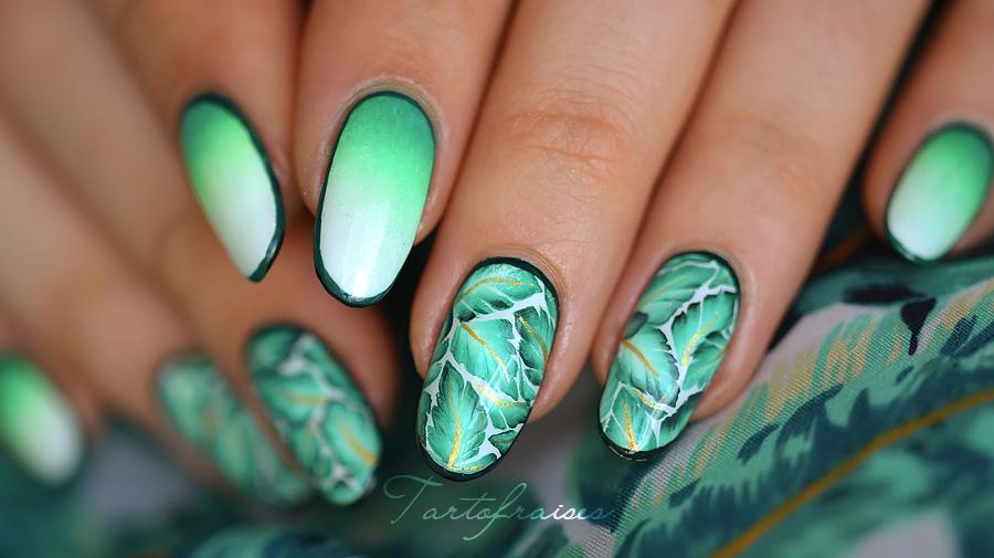 Magnificent Nail Art Tropical Component - Nail Paint Design Ideas ...