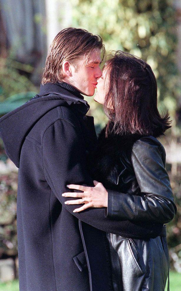 Victoria adams and david beckham dating
