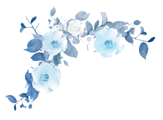 Popular And Trending Flower Stickers On Picsart Blue Flower Painting Blue Flowers Background Blue Flower Art