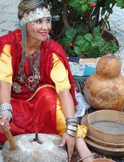 Africa Image Source Forumbiodiversity Com Berbers Of Algeria No Photographer Details Provided Berber Women Algerian Clothing Women