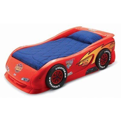 Lightning Mcqueen Sports Car Twin Bed By Little Tikes 495 99