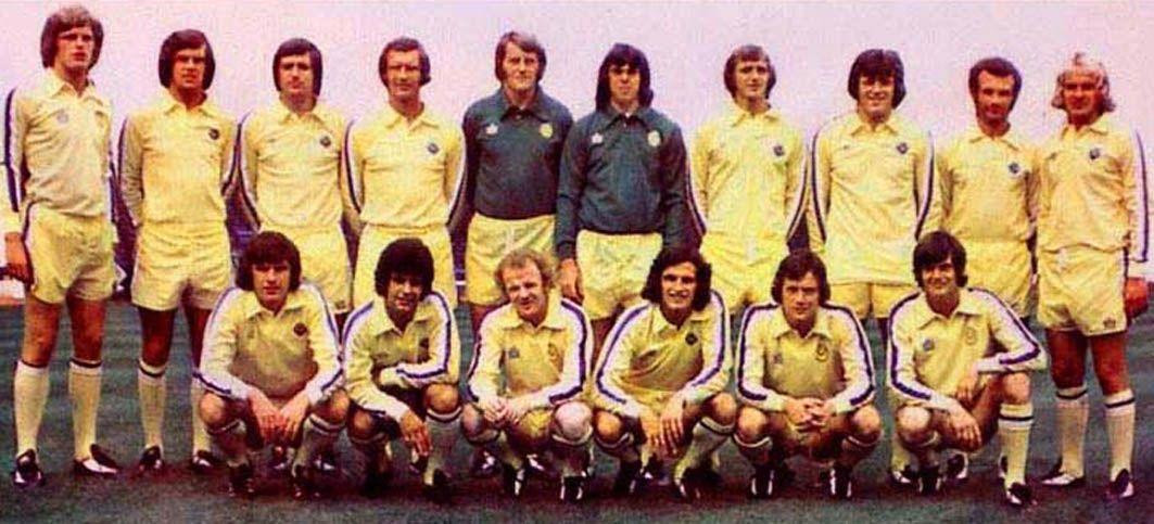 Leeds United 1974-75 Back Row: Gordon McQueen, Joe Jordan