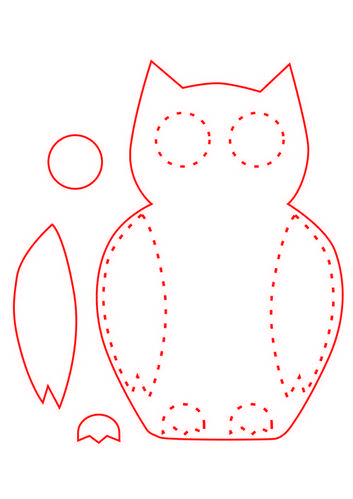 Free felt ornament patterns cute felt ornaments my for Angel decoration template