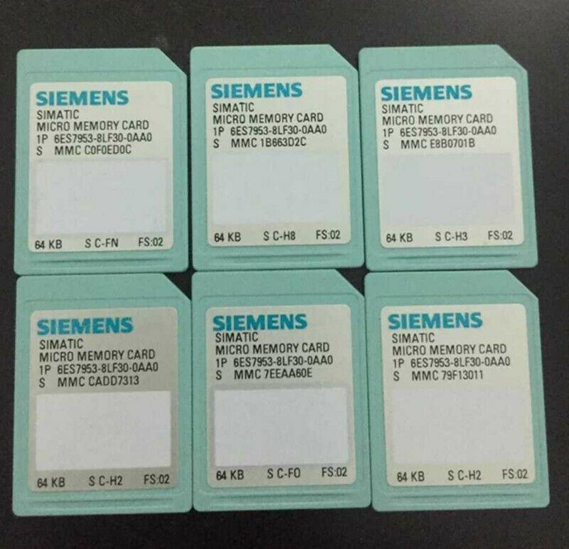 1pcs New Siemens PLC Memory Card 6ES7 953-8LF30-0AA0