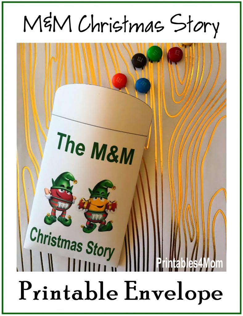 The M&M Christmas Story Over 8 Free Printables