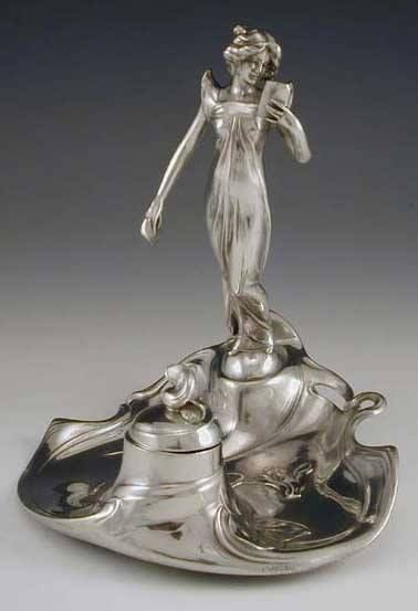 WMF of Germany Inkwell