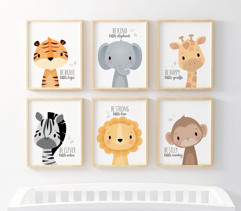 Gift For Kids Nursery Decor Nursery Wall Art Safari Nursery Prints Kids Wall Art Unique Nurser Safari Nursery Prints Animal Nursery Decor Kids Nursery Art