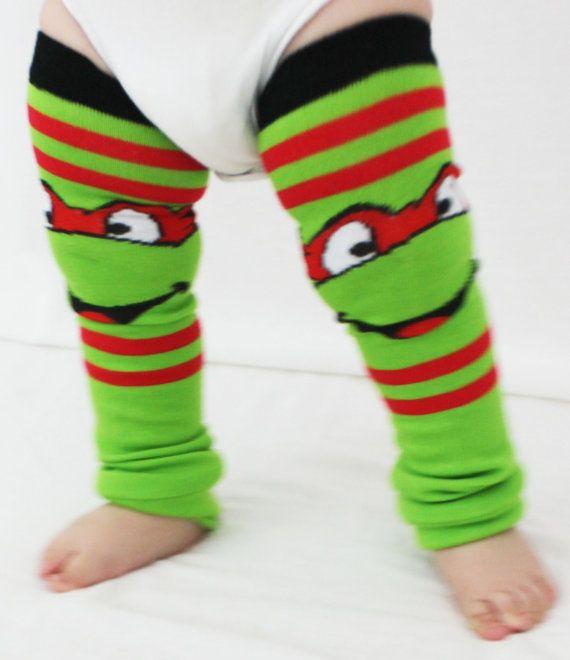 baby to toddler ninja turtle baby leg warmers raphael red halloween costume dress
