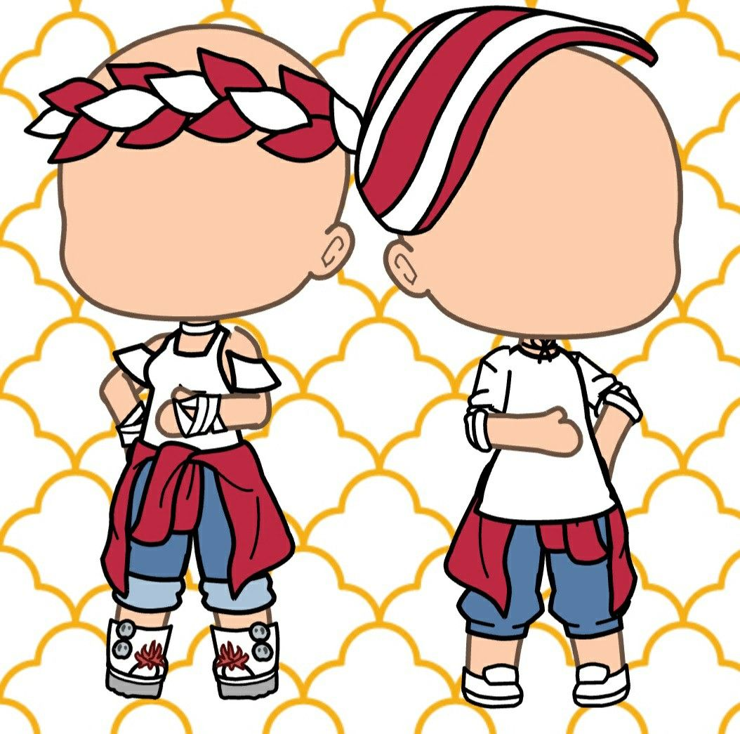 Matching boy girl outfit character outfits anime