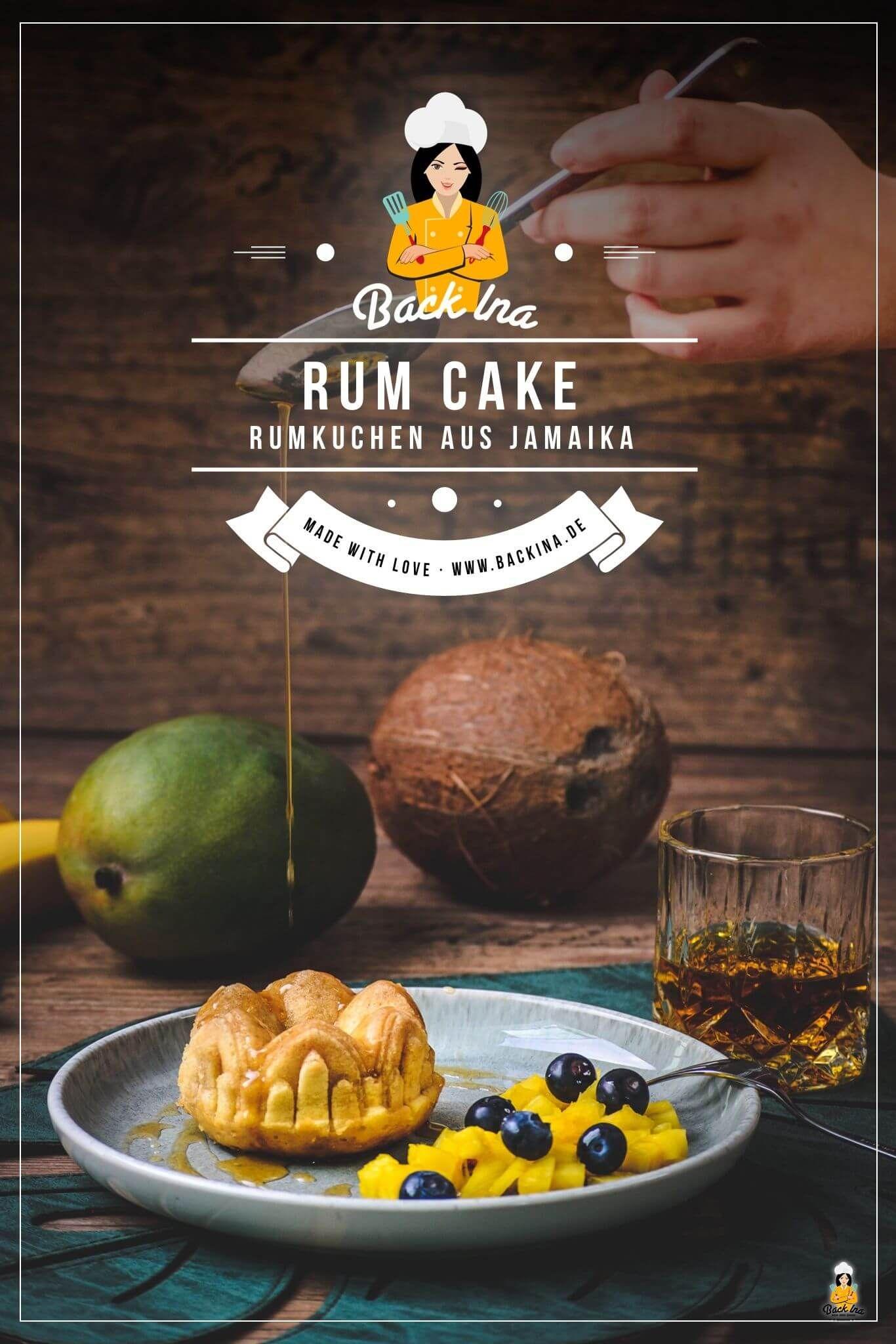 Sundiger Rum Cake Karibischer Rumkuchen Backina Rezept Rumkuchen Karibisches Essen Rezepte