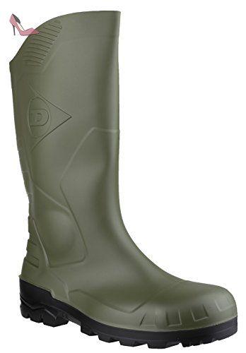 Dunlop H142011 Noir - Chaussures Bottes de pluie Femme