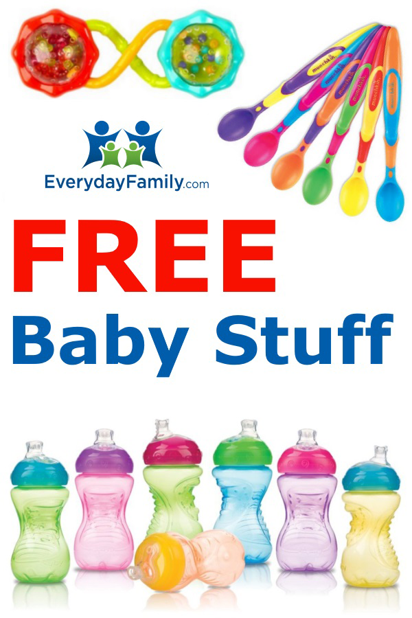 FREE Welcome Box with diapers, bottles, wipes, formula and