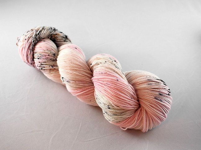 Squirrel Stash Yarn in Flamingo