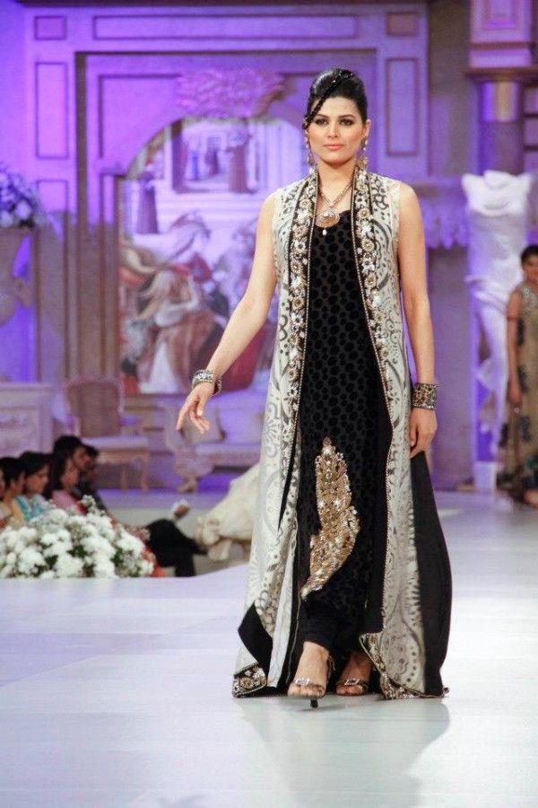 pakistani couture | Pakistani Dress Designer Ruby Shakeel winter ...