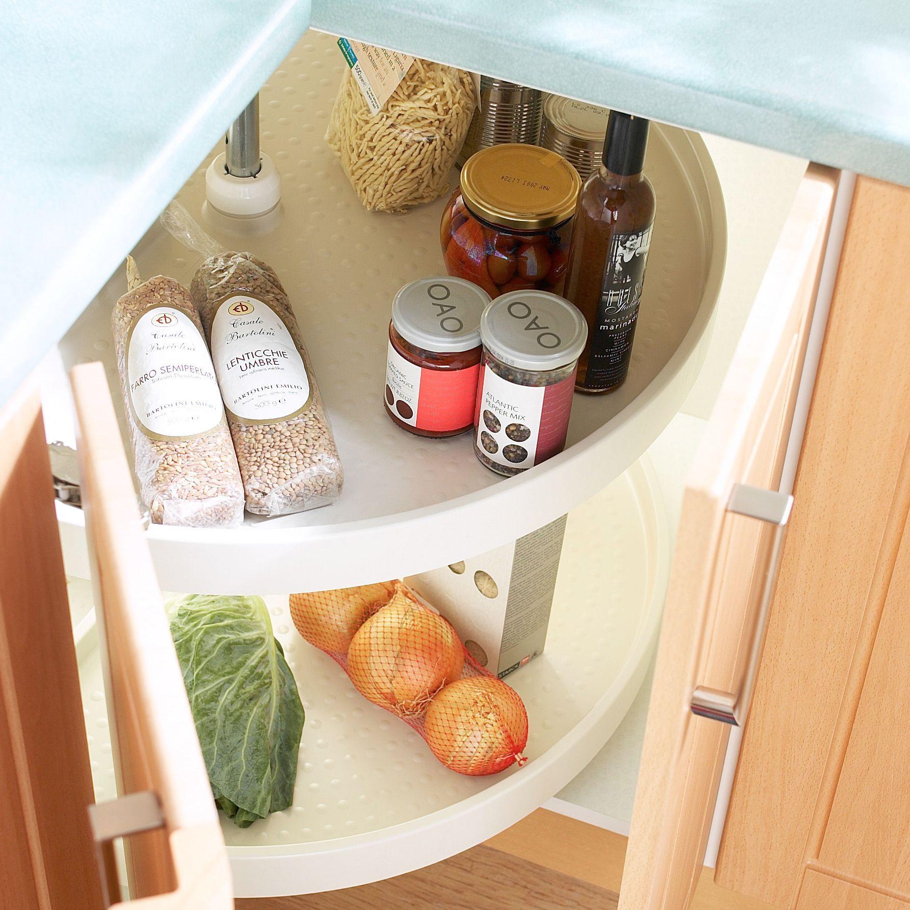 IT Kitchenswhite Plastic Storage System Rooms DIY at B