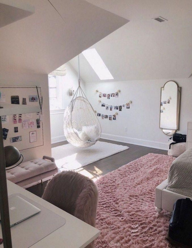 50 Inspiring Small Apartment Bedroom College Design Ideas and Decor #apartmentd - Ottomans - Ideas of Ottomans #Ottomans -  50 Inspiring Small Apartment Bedroom College Design Ideas and Decor #apartmentdesign #bedroomcollagedesign #bedroomdesignideas  Lacalabaza.net