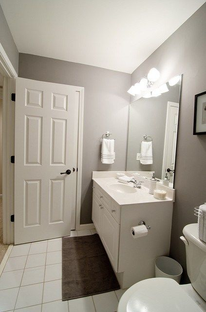 Guest Bathroom Before and After images