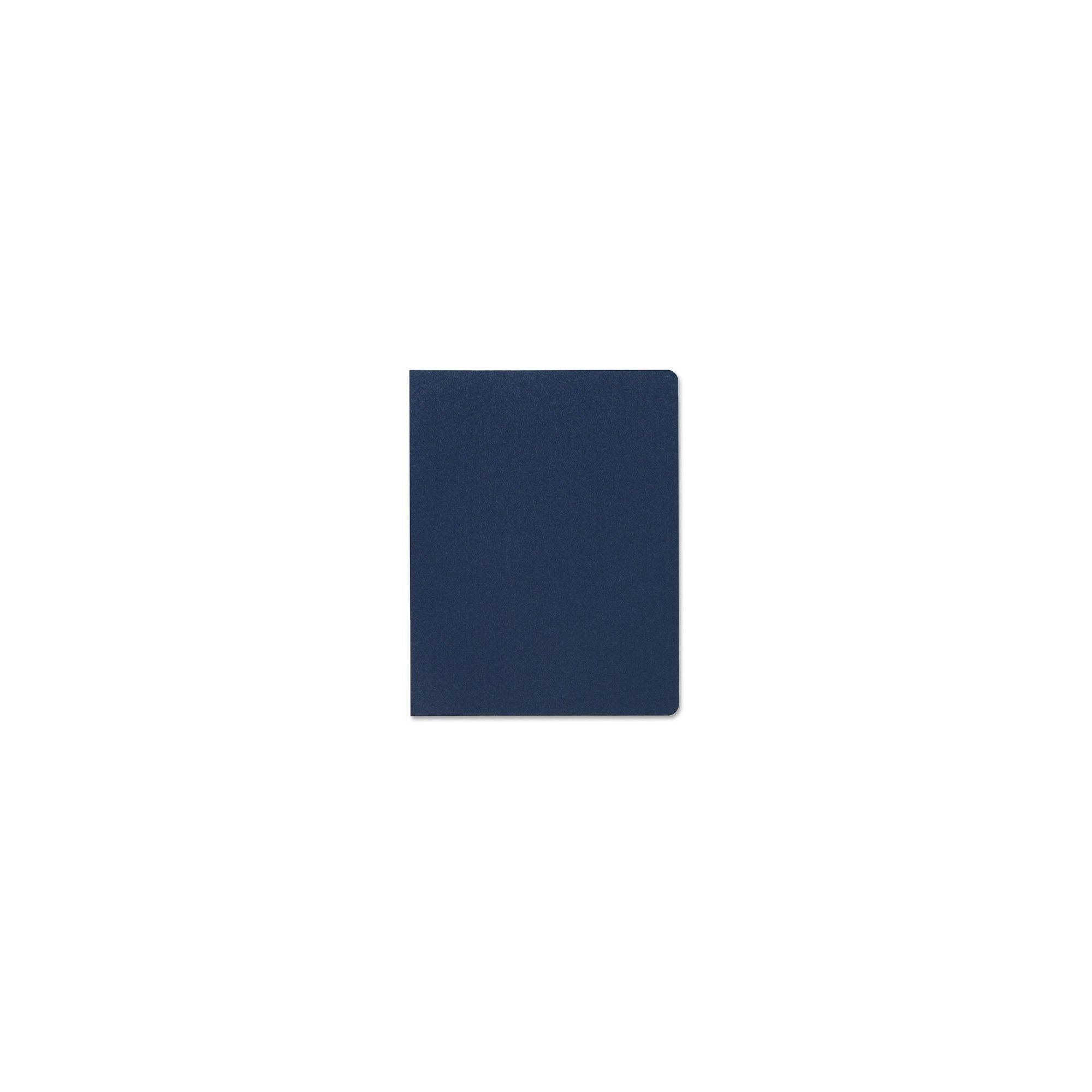 Swingline Gbc Solids Standard Covers Letter 8 3 4 X 11 1 4 Sheet Size Plastic Navy 25 Pack Blue Sheet Sizes