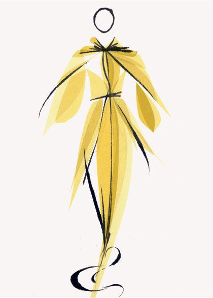 Tobie Giddio Fashion Illustrations
