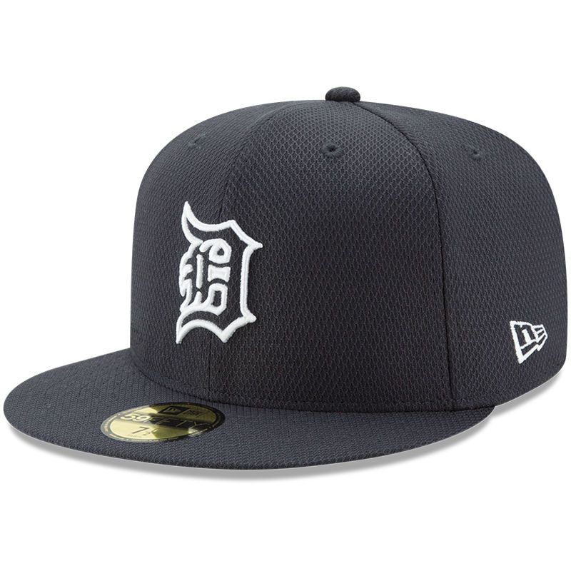 Detroit Tigers New Era Youth Diamond Era 59FIFTY Fitted Hat - Navy