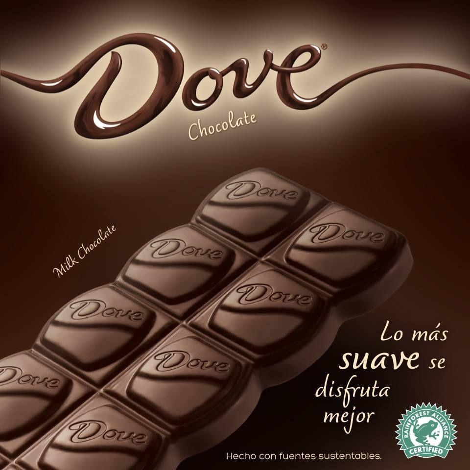 Dove Chocolate Mexico - Prueba la suavidad de la seda con Dove ...