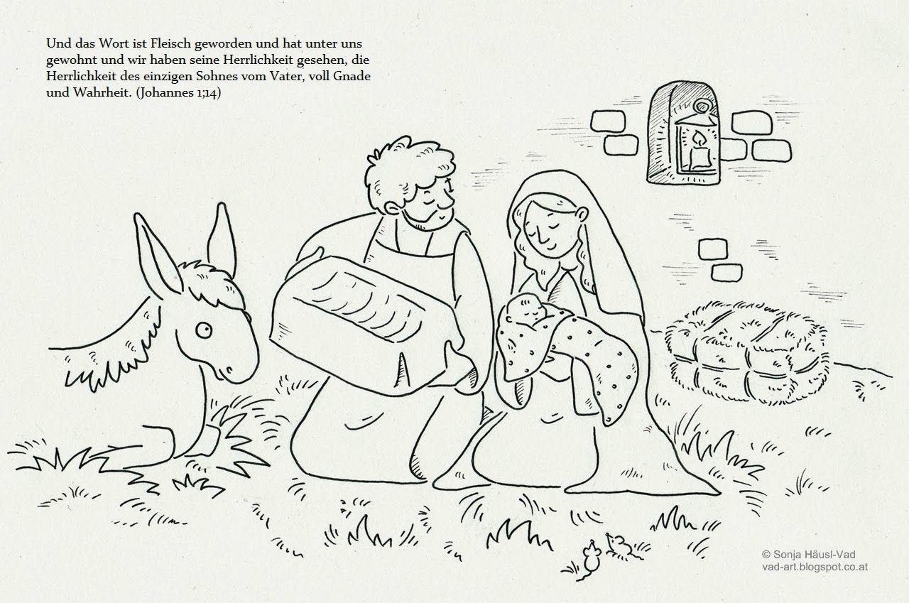 Ausmalbilder zur Bibel | Natal | Pinterest | die Bibel, Ausmalbilder ...