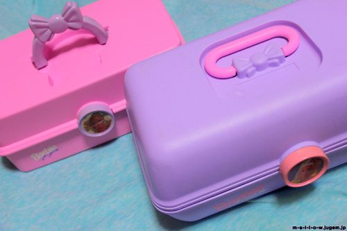 90s Barbie Makeup Boxes I Had Two Of These I Used One For Make Up