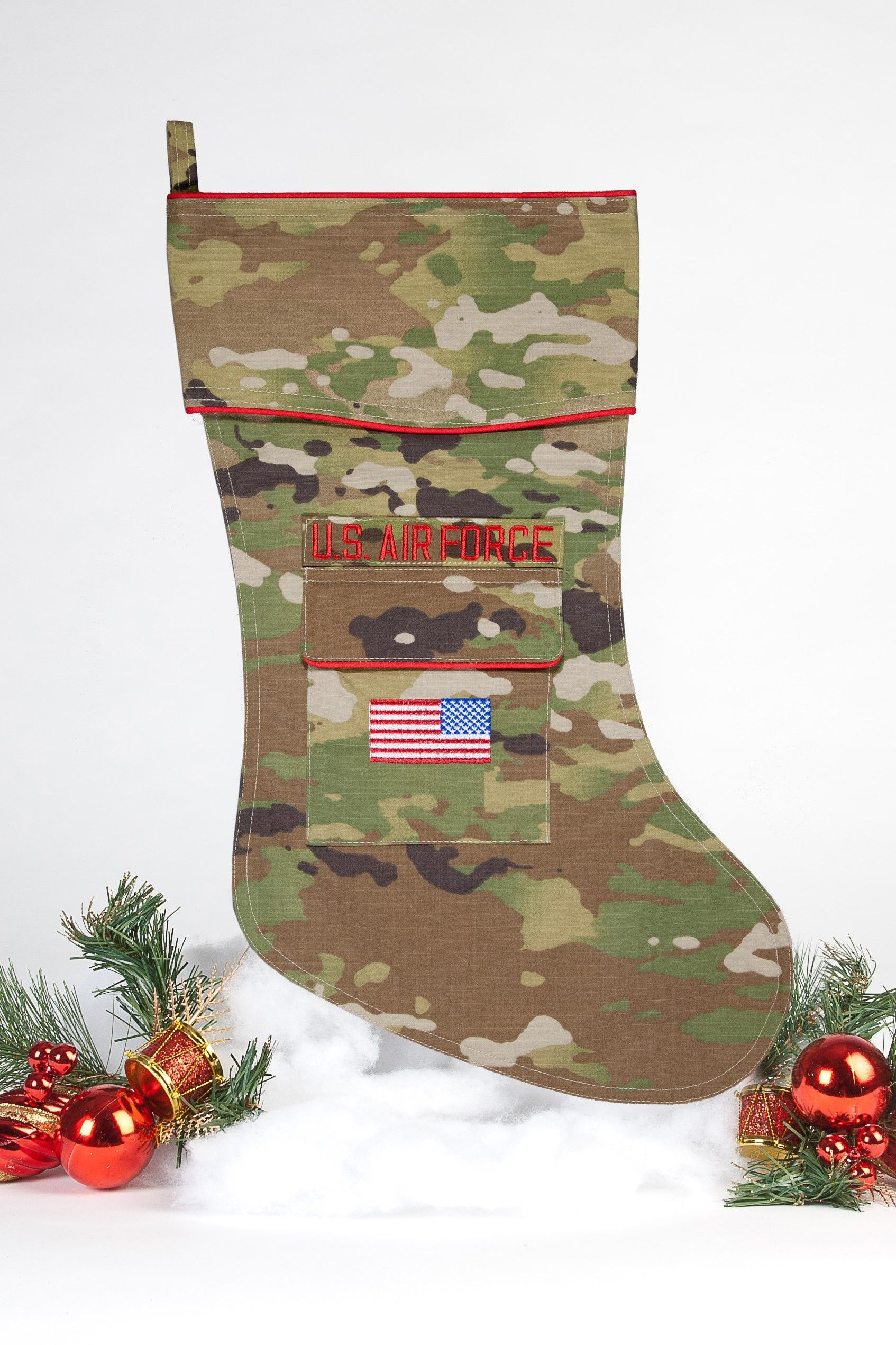 U.S. Air Force Christmas Stocking OCP Style New USAF