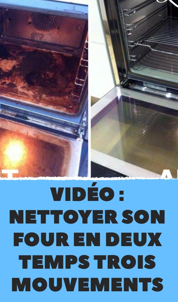 Video Nettoyer Son Four En Deux Temps Trois Mouvements Nettoyer Four Nettoyant Pour Four Fait Maison Astuce Nettoyage Four