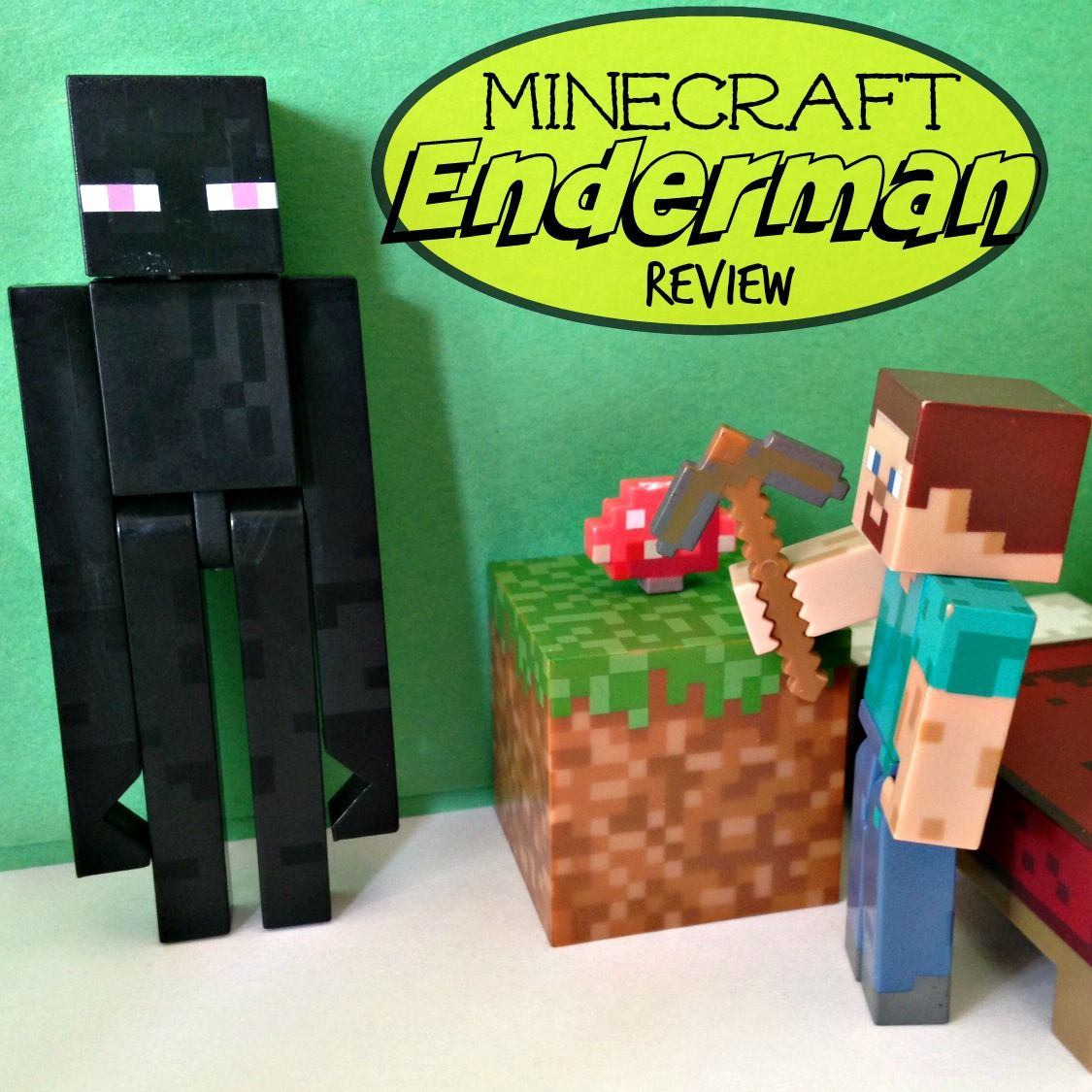 Best Toys Gift Ideas For 9 Year Old Girls In 2018: Minecraft Enderman Action Figure