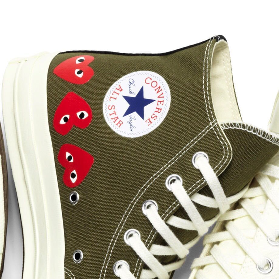 7ced849dacfbc PLAY Comme des Garçons Converse Chuck Taylor All Star  70 launches Friday  21st September exclusively at Dover Street Market and on the DSML E-SHOP.