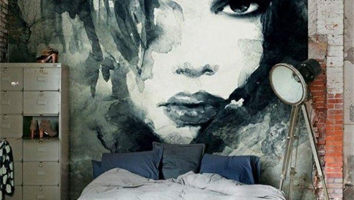 wanddeko ideen wandfarben schlafzimmer coole wanddeko malen