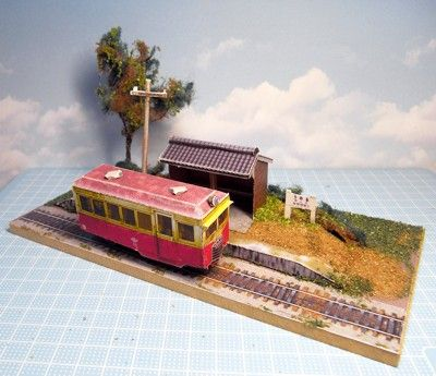 Ho scale sex diorama