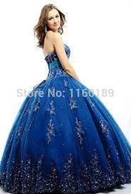 Resultado de imagen para azul cobalto vestidos