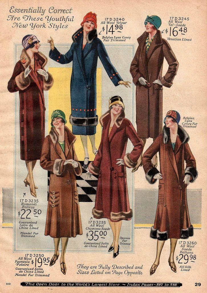 5ad53a4d5 1925 Sears Catalog | 1925 | Fashion illustration vintage, Vintage ...