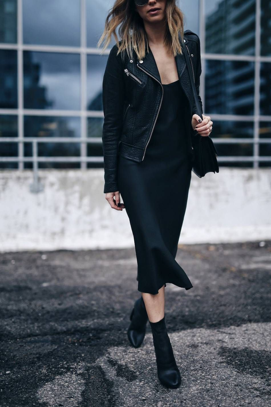 Combat boot outfits, Leather jacket outfits